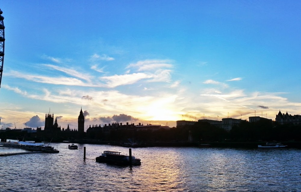 sunset-london-waterloo-bridge-sabato-a-londra