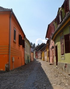 romania on the road sighisoara