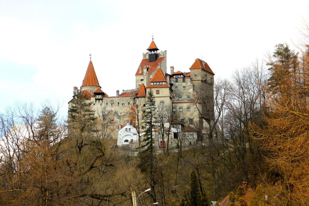 Transilvania itinerario on the road castello-di-bran