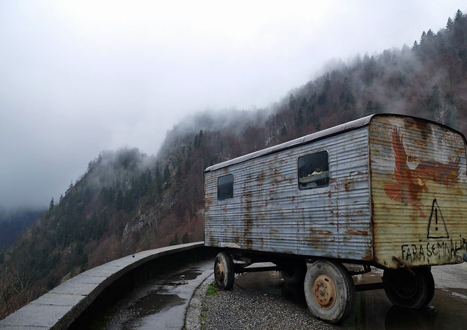 Transilvania itinerario on the road transfagarasan-